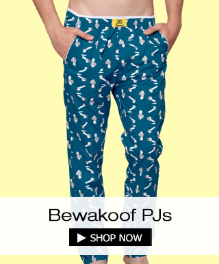 Pyjamas for men at Bewakoof.com