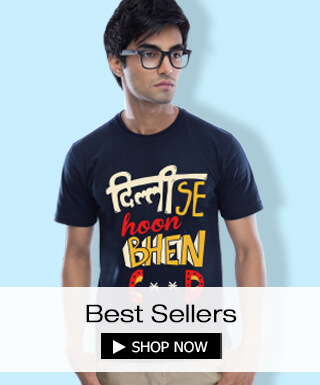 Best Sellers at Bewakoof.com