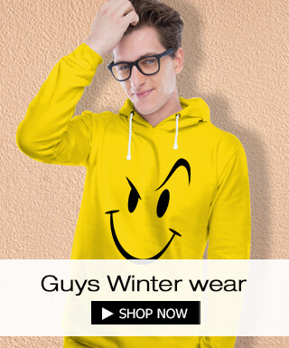 Winter wear for men at Bewakoof.com