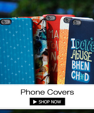 Mobile covers and cases at Bewakoof.com