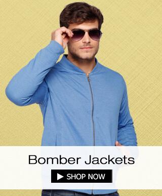 Bomber Jackets for Men Online at Bewakoof.com
