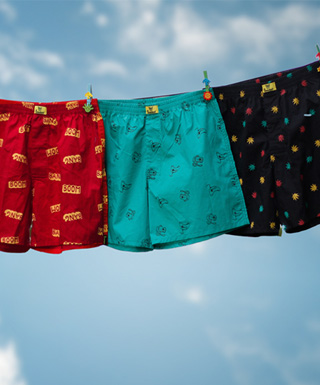 Boxers for Men at Bewakoof.com