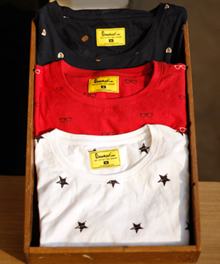 All-Over Print T-Shirts at Bewakoof.com
