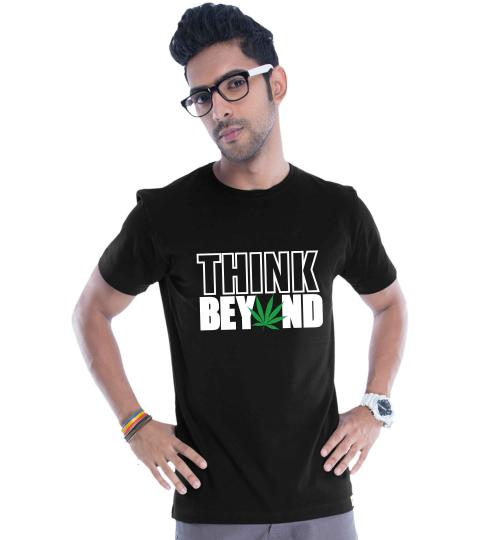 Think Beyond Mens T-Shirts