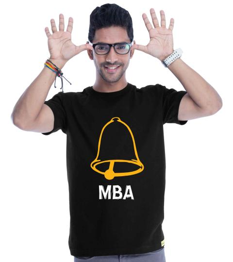 Ghanta MBA (Black) Mens T-Shirts