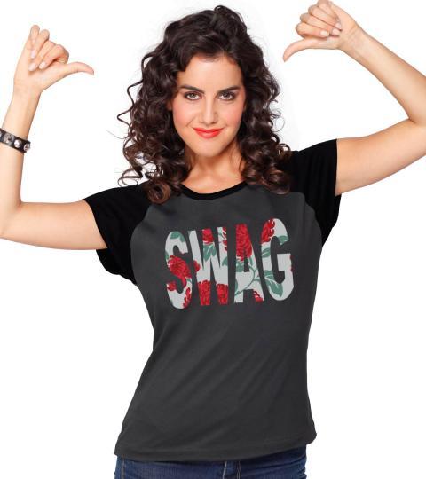 Swag Shirts Swag Womens Raglan T-shirt