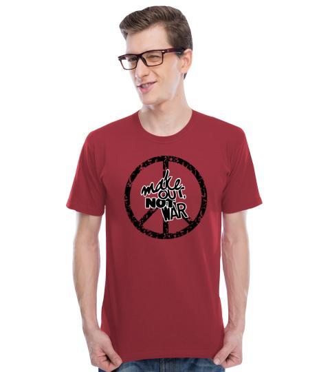 Make OUT Not WAR Mens T-Shirts