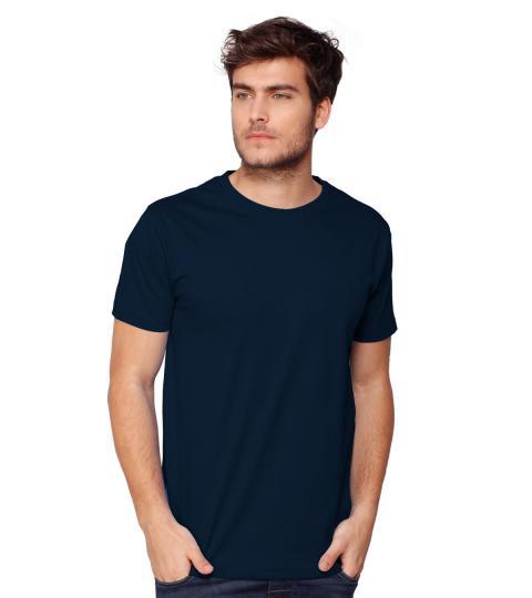 Navy Blue Plain Mens T-Shirts