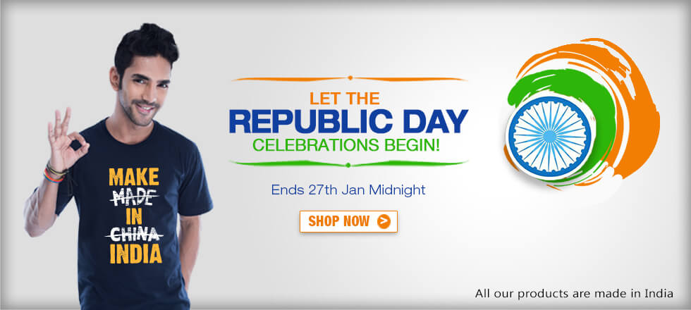 Republic Day Collection India at Bewakoof.com