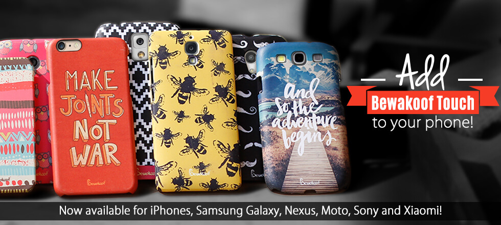 Mobile Covers Online at Bewakoof.com