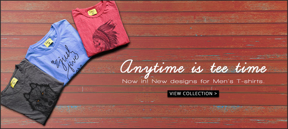 Premium Graphic T-Shirts Men at Bewakoof.com