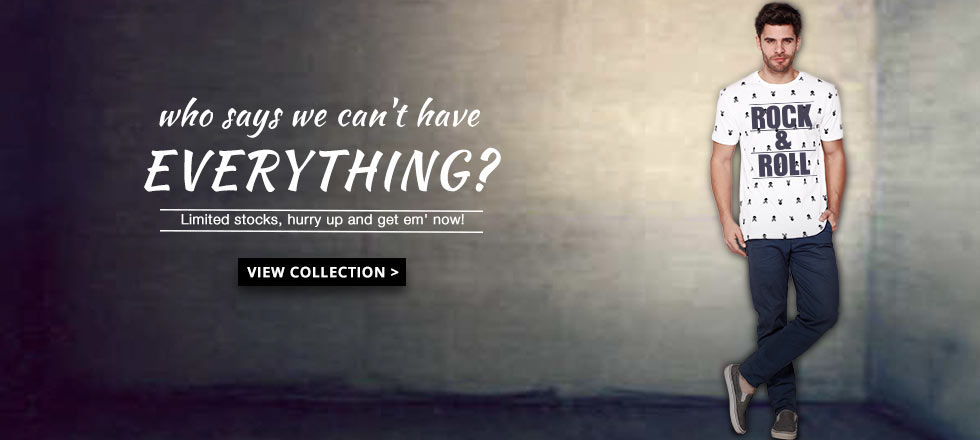 premium Graphic T-shirts for Men at Bewakoof.com