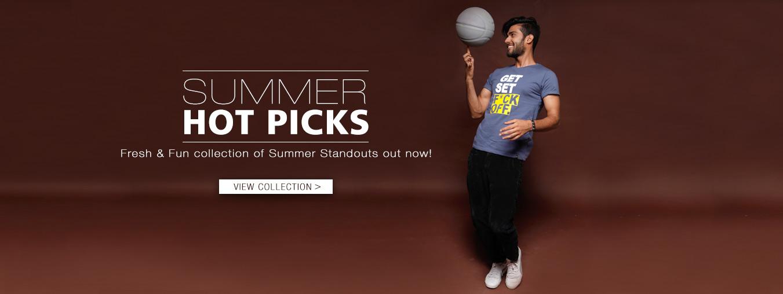 Summer Collection for Men at Bewakoof.com
