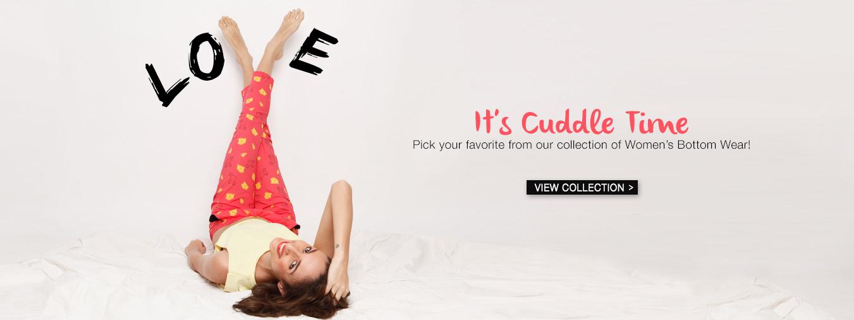 Pyjamas for Women at Bewakoof.com