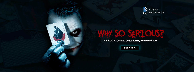 Official DC Merchandise by Bewakoof.com - Joker Collection at Bewakoof.com